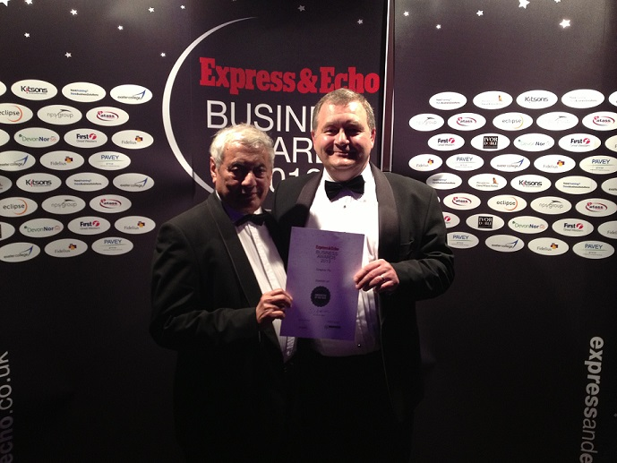 Exeter Business Award runners up